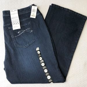 NWT Style&Co Blue Boot Cut Jeans Size 18 Petite
